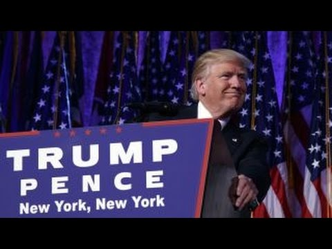 Donald Trump elected President of the United States