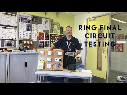 Ring Final Circuit Testing for Sockets Wired in 2.5 Twin and CPC Cable (Twin and Earth Cable)