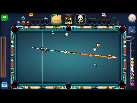 trick shots with ahmad adel from Jordan in berline 8 ball
