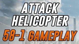 battlefield 4 58 1 attack helicopter gameplay seige of shanghai xbox one