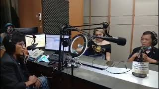 Bincang Bintang bersama Klise Bima dan Poppy Bondol di Radio DFM 103,4 FM.