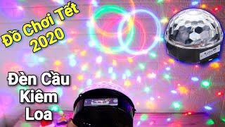 Đồ Chơi Tết 2020 - Đèn cầu led nháy theo nhạc tích hợp Loa Bluetooth