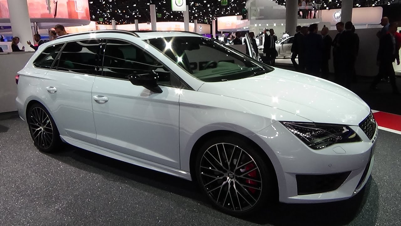 2016 seat leon st cupra exterior and interior iaa. Black Bedroom Furniture Sets. Home Design Ideas