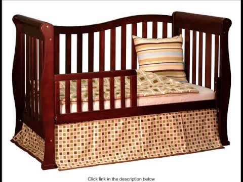 Athena Nadia 3 in 1 Crib with Toddler Rail