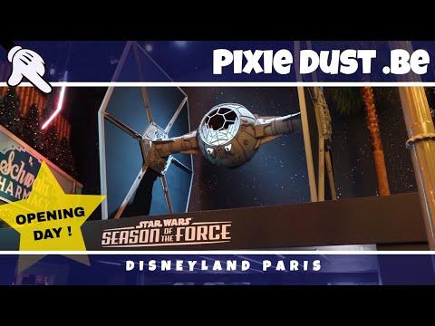 FULL VIDEO - Star Wars Season of the Force 2018  Disneyland Paris