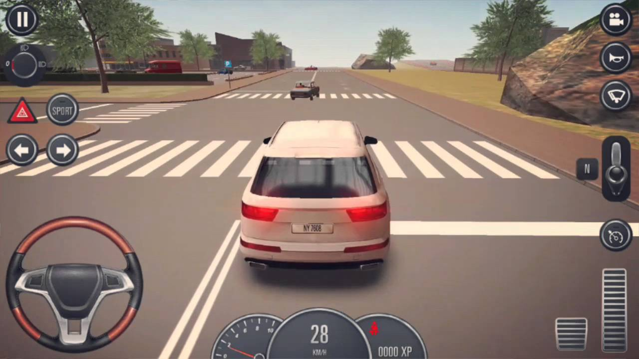 Driving School 2016 Audi Q7 Free Drive Gameplay - YouTube