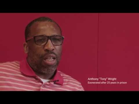 Tony Wright speaks out a month after his exoneration