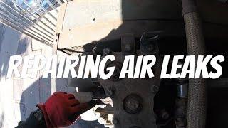 Saturday Overtime call Inner Cooler Air Leak
