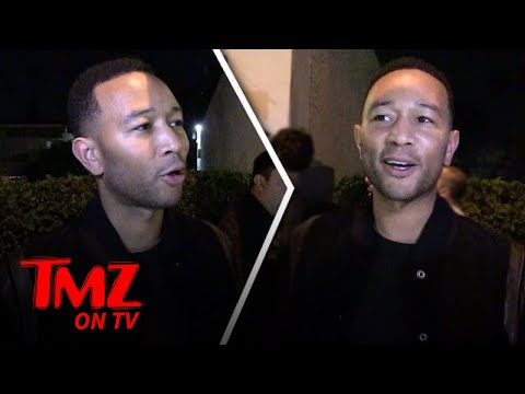 John Legend Obsessed With Bruce Springsteen's Broadway Show! | TMZ TV