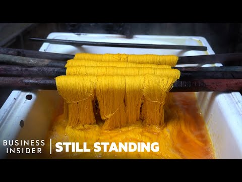 How One Of The Last Dye Houses In Egypt Keeps Ancient Hand Dyeing Alive | Still Standing