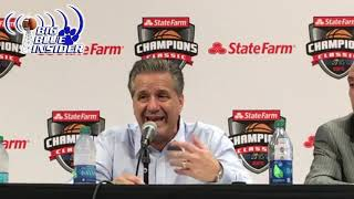 John Calipari post Duke