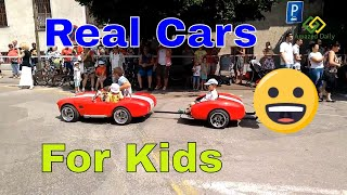 🚗 Real Cars For Kids To Drive 🚗
