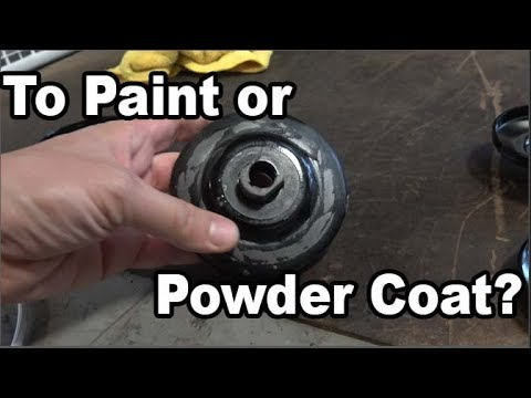 Classic VW BuGs Paint or Powder Coat your Vintage Beetle Ghia Pulley