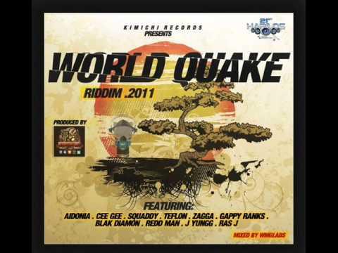 WORLD QUAKE RIDDIM (KIMICHI RECORDS) MEGAMIX BY DJ ASHANI