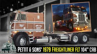 """Pettit & Sons' 1979 freightliner FLT 104"""" CAB 