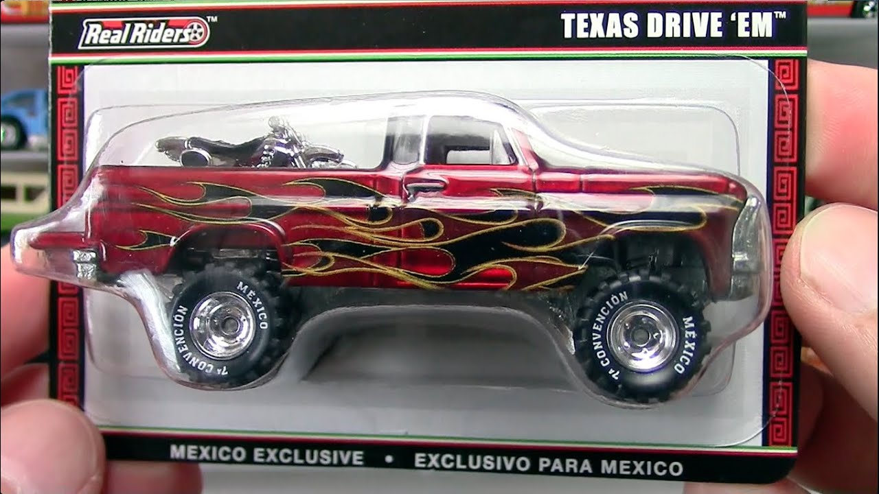 Hot Wheels - Mexico Convention Texas Drive 'Em Truck