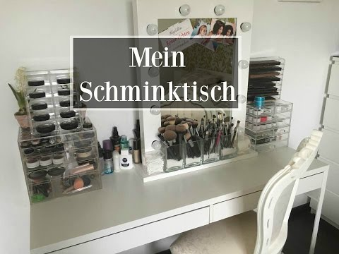 mein schminktisch make up aufbewahrung ikea. Black Bedroom Furniture Sets. Home Design Ideas