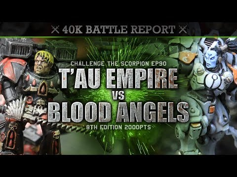 blood-angels-vs-t'au-empire-warhammer-40k-battle-report-cts90-2000pts-we-are-being-hunted!