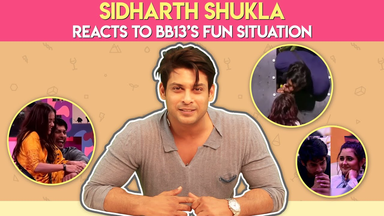 Download Sidharth Shukla Reacts To Bigg Boss 13's Fun Situations   India forums