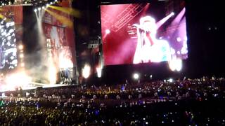 Right Now + Through the Dark - Live One Direction - Argentina 03-05-14 (Completo Parte 5)