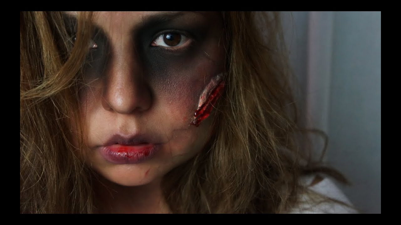 maquillage zombie nancy