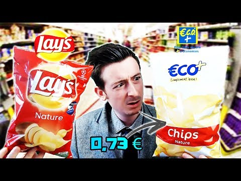 CHIPS ECO+ vs CHIPS LAY'S
