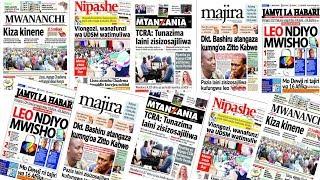 LIVE: TCRA- Tunazima Laini Zisizosajiliwa/Dkt. Bashiru Atangaza Kumng'oa Zitto Kabwe/Kiza Kinene