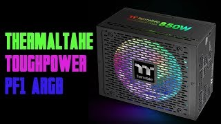 [Cowcot TV] Présentation alimentation Thermaltake Toughpower PF1 ARGB