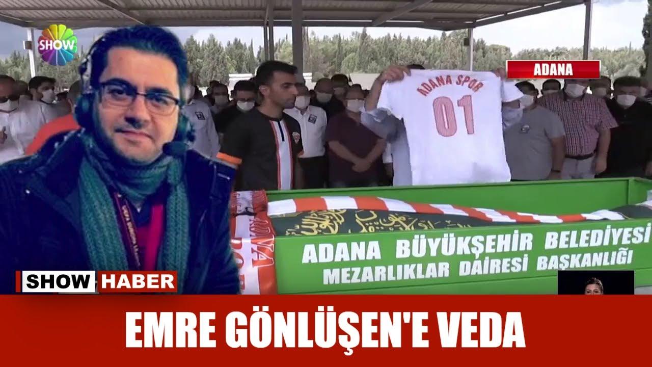 Spor spikeri Emre Gönlüşen'e veda