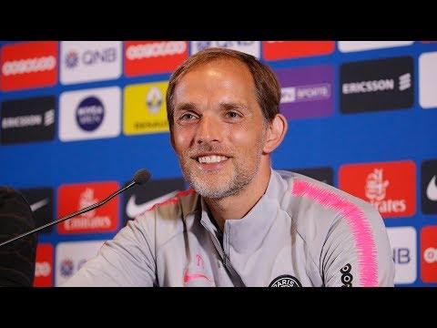 Conférence de presse Olympique de Marseille - Paris Saint-Germain