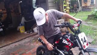 Db 14 Tao Tao 125cc dirt bike
