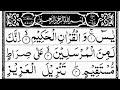 surah yaseen (yasin) full in arbic text   سورۃ یٰسین