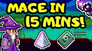 Terraria Mage Guide iฑ 15 Minutes! Terraria 1.4 Mage Progression Loadout Guide from Start to End!