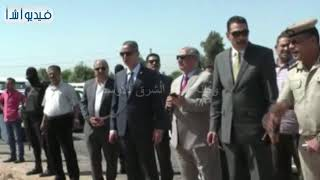 محافظ سوهاج ومدير الأمن يقودان حملة لإزالة التعديات على أملاك الدولة بقرية الكولة بمركز أخميم