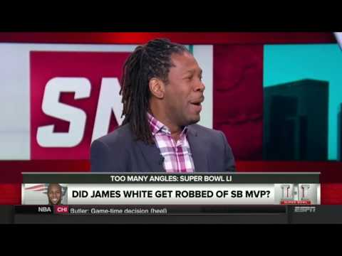 SportsNation  Super Bowl 51   Did James White Get Robbed Of SB MVP