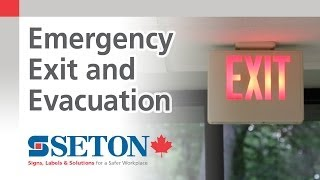 Emergency Exit and Evacuation Safety Training Video from Seton Canada