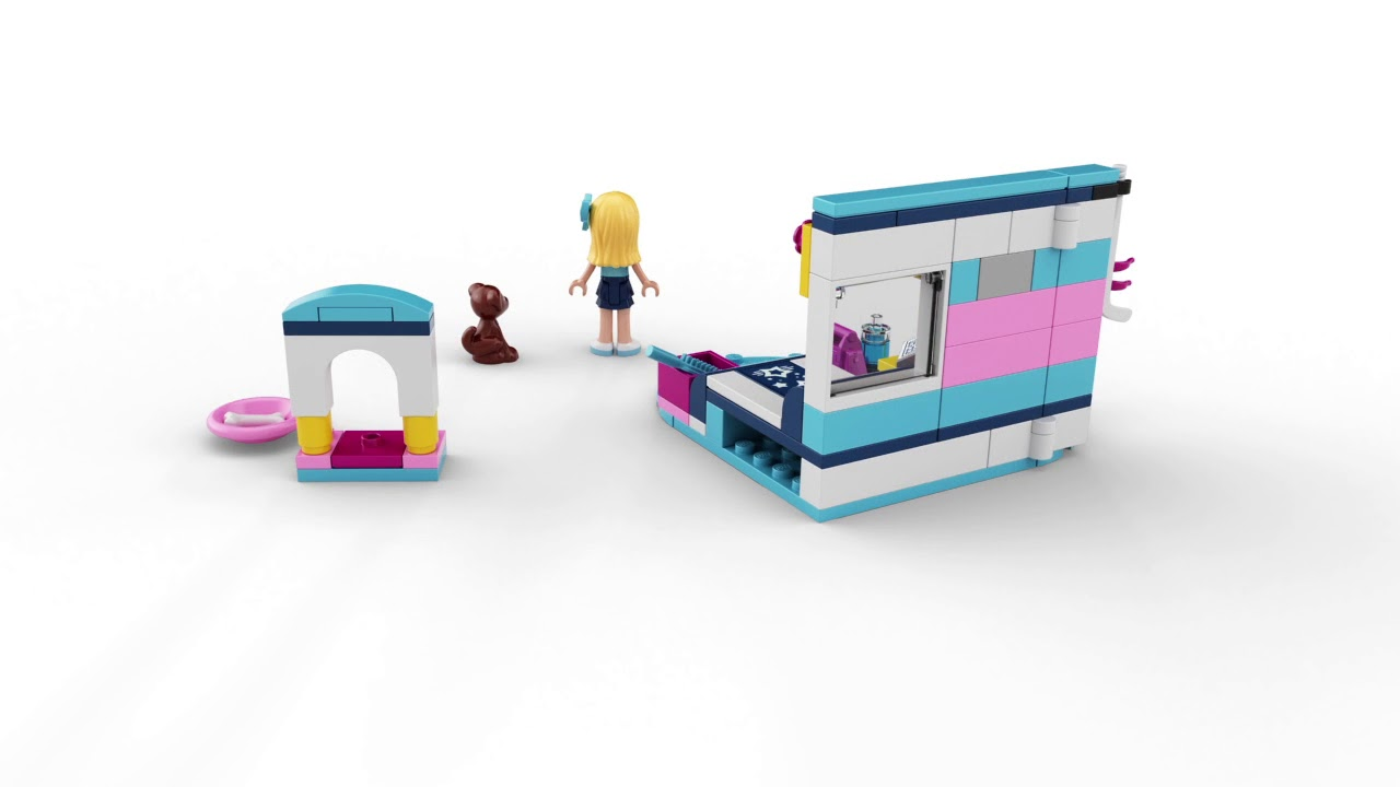 Lego Friends Stephanies Bedroom 41328 Youtube