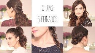 5 peinados fáciles para todos los días II: De lunes a viernes para ir a clase o al trabajo Thumbnail