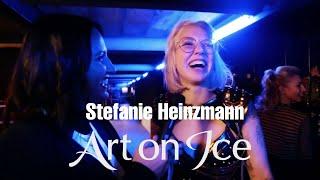 Art On Ice 2019 - Stefanie Heinzmann - Backstage Interview Premiere Zürich