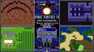 Final Fantasy IV Free Enterprise League – Riversmccown/TheFiz/Supremacy/Nightdew (9/17/18)
