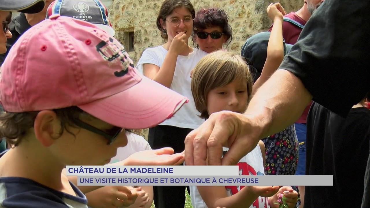 Découverte : le château de la Madeleine