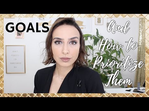 How To PRIORITIZE Your Goals   SIMPLE TOOLS to Help You Plan Your GOALS & TASKS!