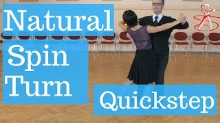Quickstep Natural Spin Turn - Pre Bronze Level