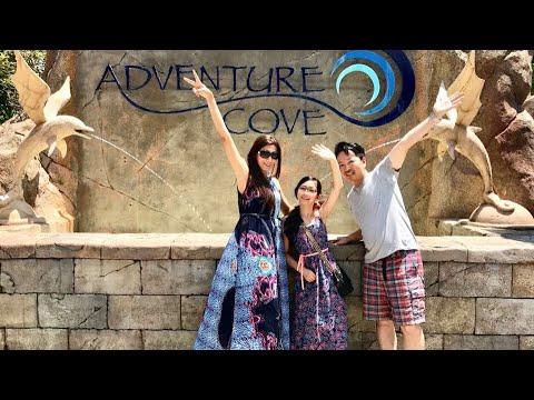 Family Motoki @ Adventure Cove Waterpark, RWS
