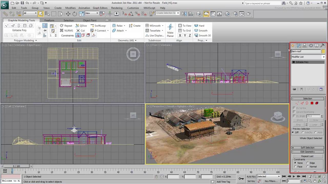 Touring the UI in 3ds Max