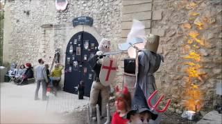 Halloween 2016 замок Barben  Provence FRANCE / Французы развлекаються / Пугалки для французов(Страшно но интересно   Halloween 2016 замок Barben Provence FRANCE Halloween 2016 chateau de La Barben en Provence FRANCE Хэллоуин во ..., 2016-11-13T21:37:36.000Z)