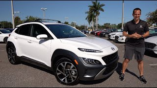 What are the MAJOR changes for the NEW 2022 Hyundai Kona?