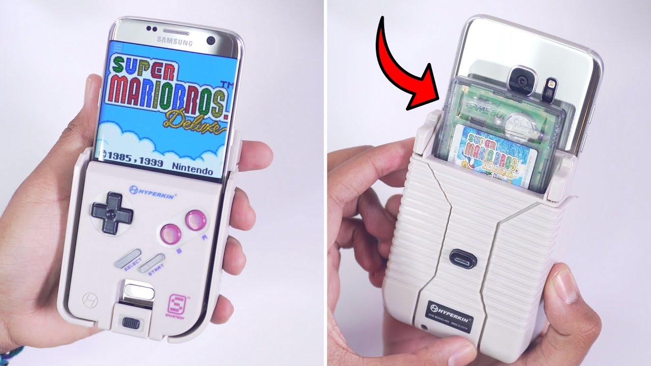 Turn Your Phone Into A Gameboy Hyperkin Smartboy K YouTube - Hyperkin smartphone gameboy