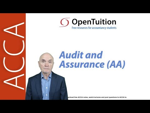 Introduction to the ACCA Audit and Assurance (AA) Exam