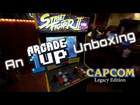 An Arcade1Up Unboxing - Capcom Legacy Edition from The Geocab